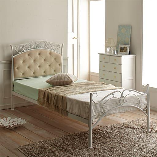 エレガントデザインベッドの小イメージ