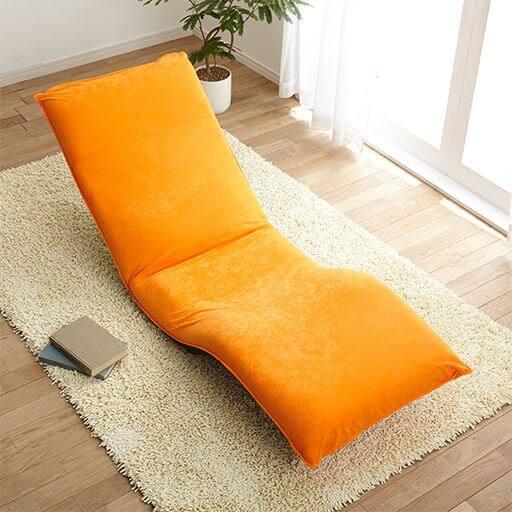 腰に優しい脚上げ寝椅子II – セシール