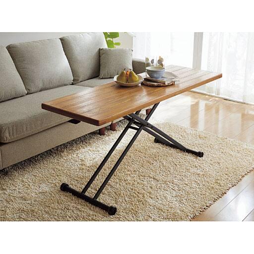 天然木リフティングテーブル – セシール