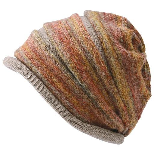 かすり段染めグラデーション帽子 – セシール