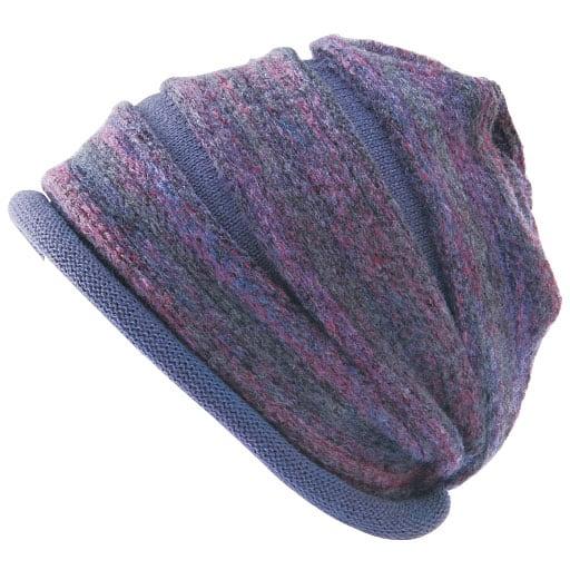 かすり段染めグラデーション帽子