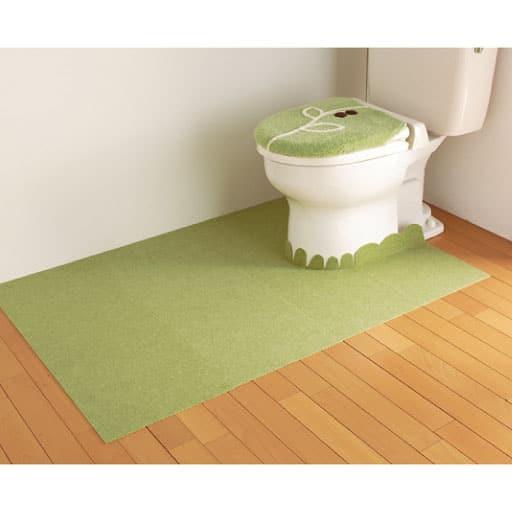 バリアフリーおくながトイレカーペットの写真
