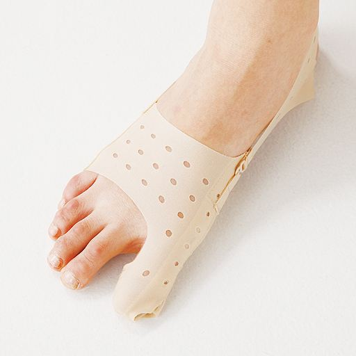 薄型母趾サポーター(1枚) - セシール