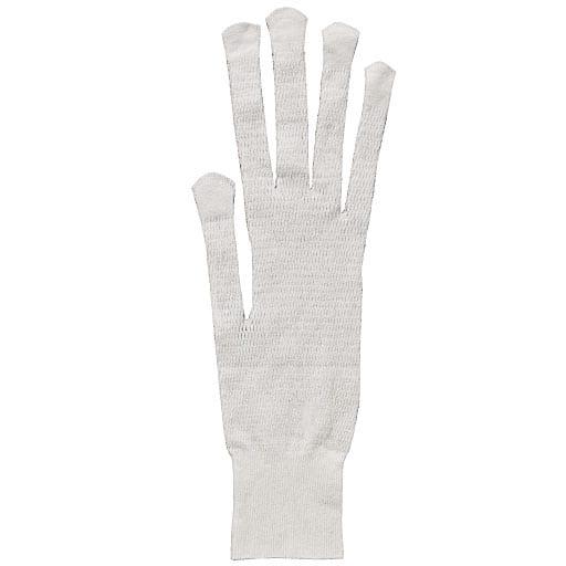 さらっと快適メッシュインナー手袋(10枚入) – セシール