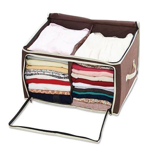炭入り消臭衣類収納ケース – セシール