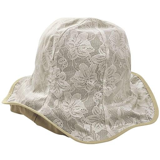 軽量はっ水アルミコーティング帽子 – セシール