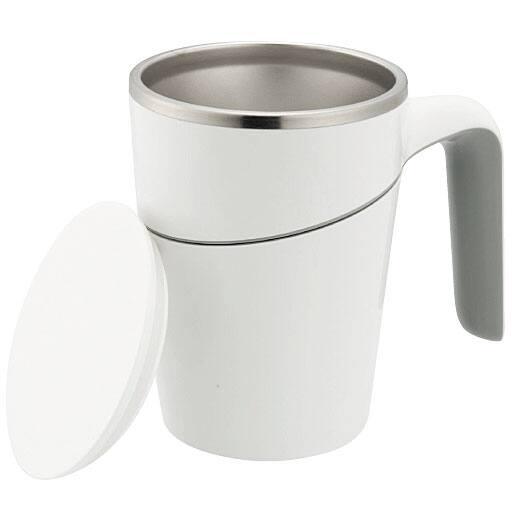 倒れにくいマグカップ