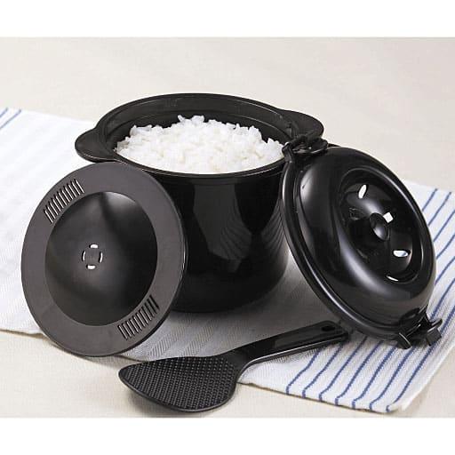 電子レンジ専用炊飯器 ちびくろちゃん 2合炊き – セシール