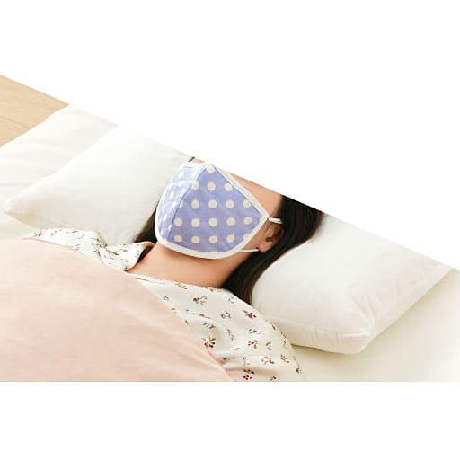 シルクと綿ガーゼの5層潤いマスク(2色組) – セシール
