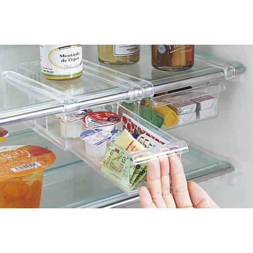 冷蔵庫棚吊りスライドトレー – セシール