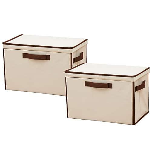 重ねて使える下扉整理箱(2個組) – セシール