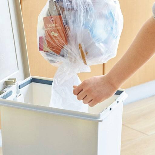 次が使いやすいゴミ袋(100枚組) – セシール