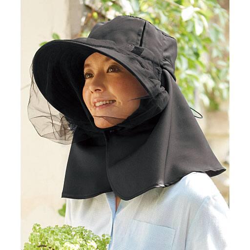 涼やか虫除けガーデニングUV帽子 – セシール