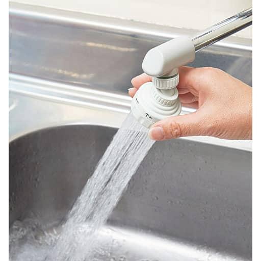 首振り節水キッチンシャワー – セシール