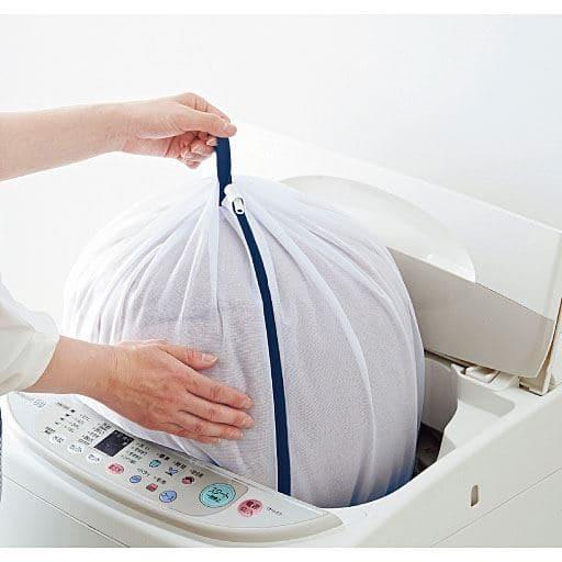 ドラム式もOK!寝具も洗える ふくらむ洗濯ネット – セシール