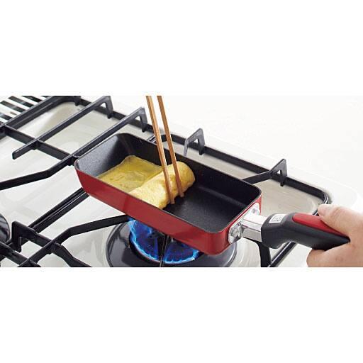 スリム玉子焼き器(ふっ素樹脂加工) – セシール