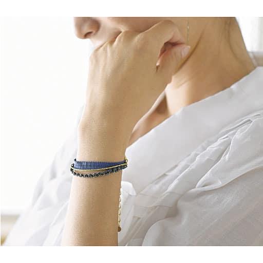 静電気対策華奢魅せブレスレット – セシール