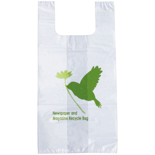 新聞雑誌回収袋30枚入(幸せの小鳥)x2セット – セシール