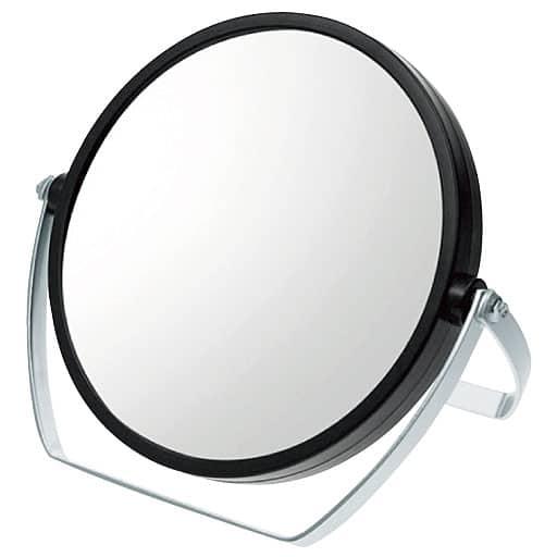 セシール10倍拡大鏡付 両面スタンドミラー - セシール