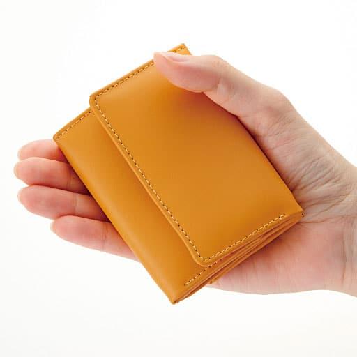 コンパクトな牛革(床革)財布の通販
