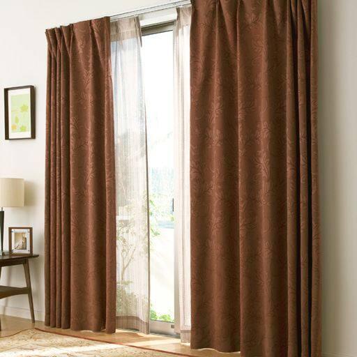ジャカード織カーテンの写真