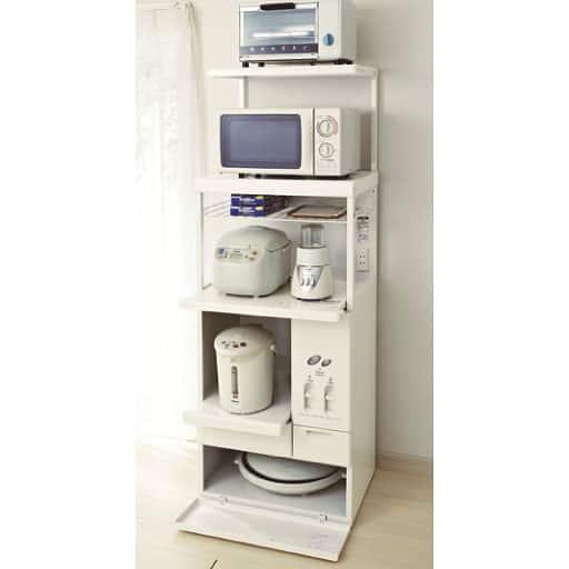 キッチン家電収納ラック – セシール