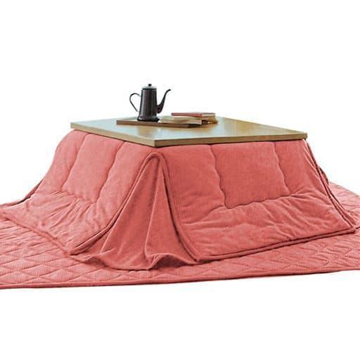 吸湿発熱省スペースこたつ掛け布団の写真