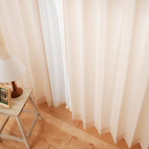 ワッフルカーテンと題した写真