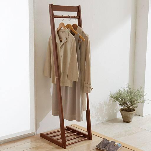 3サイズから選べる木製コートハンガー – セシール