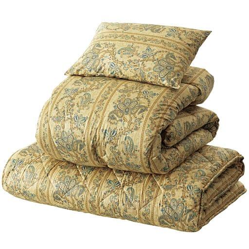 フランス産羊毛混布団セット – セシール