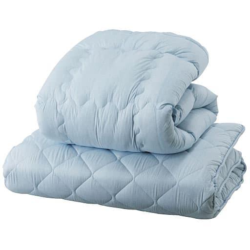 洗える清潔布団掛け敷きセット(抗菌防臭) – セシール