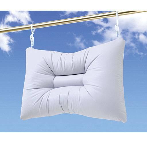 手軽に洗える枕の写真