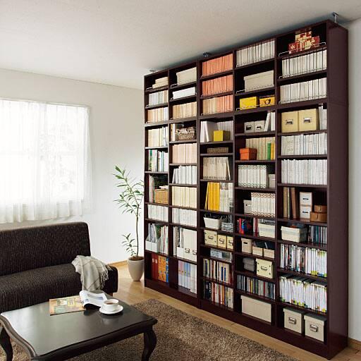 1cmピッチ壁面本棚(オープン)の商品画像