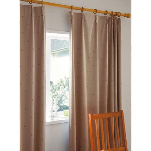 遮熱・安眠1級遮光プリントカーテンの商品画像