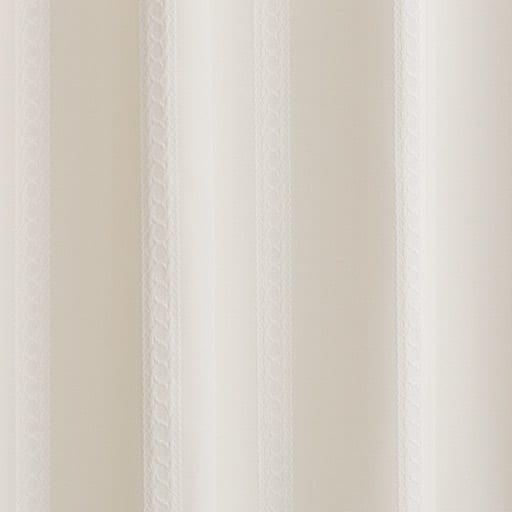 〔形状記憶付き〕ジャカード織カーテン – セシール