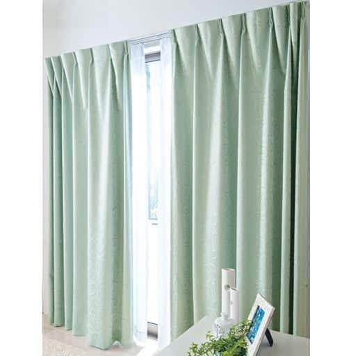 ジャカード織りカーテン(裏地なし)の写真