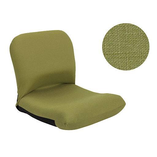 背中を支える美姿勢座椅子の写真