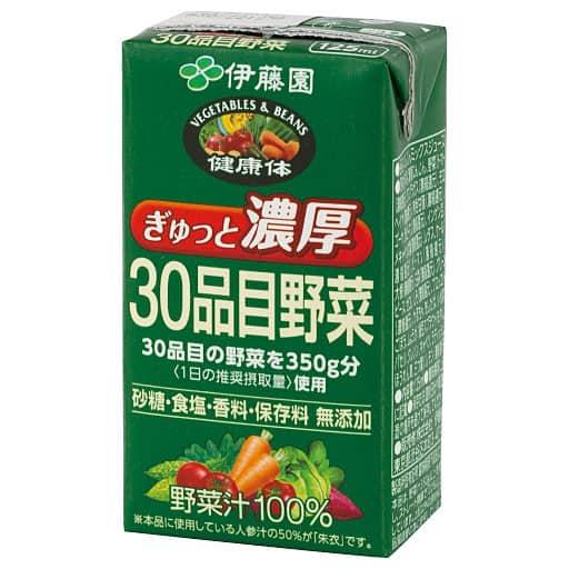 伊藤園ぎゅっと濃厚30品目野菜ジュース – セシール