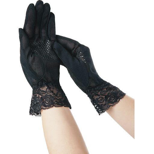 UVカットサマー手袋 指先美人(2双組) – セシール