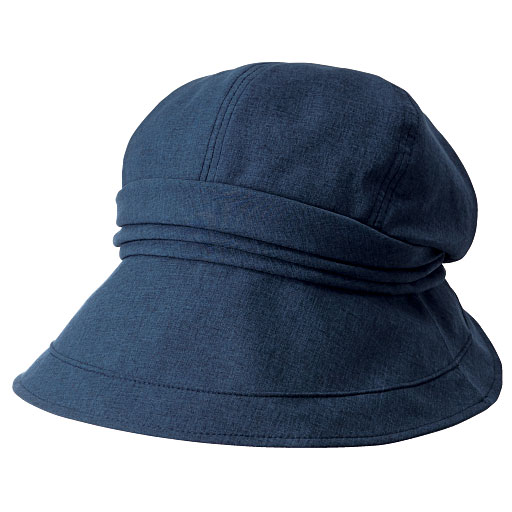 20機能で小顔に見える遮熱遮光UVクロッシェ帽子