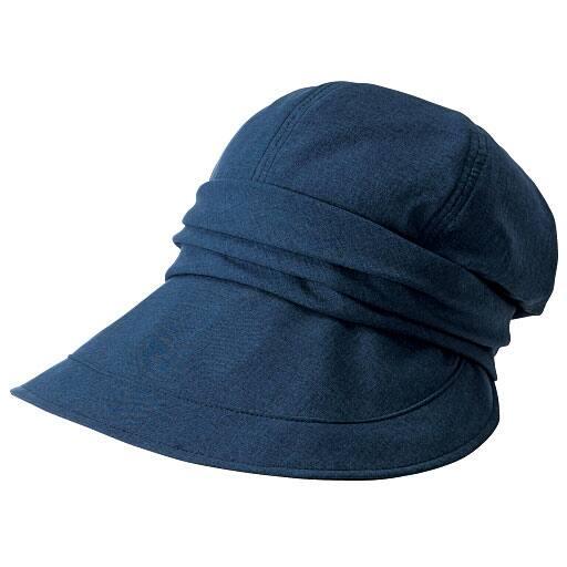 20機能で小顔に見える遮熱遮光UVキャスケット帽子