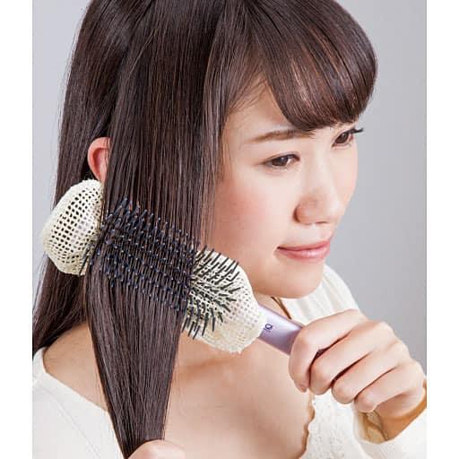 京都西陣の絹糸屋さんのツヤサラブラシカバー2枚組の通販