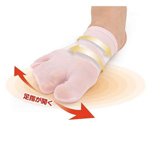 カサハラ式3股テーピング靴下