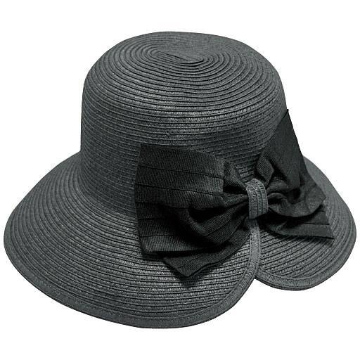 ビッグリボンブレード UVカット帽子