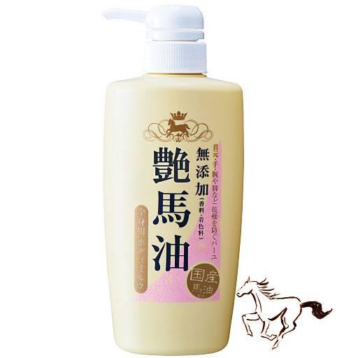 艶馬油 ボディーミルク - セシール