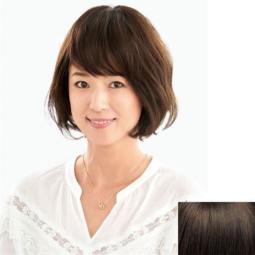 人毛100%前髪・分け目用ヘアピース – セシール