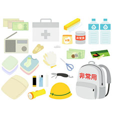防災の日にリストでチェック 必携防災グッズセットと備蓄品