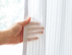 透けにくい素材で、プライバシーも守る