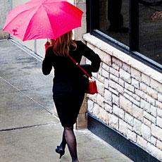 梅雨のファッションコーデ。攻略のポイントはここ!