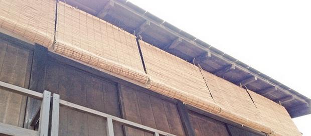 平安の昔から、日本ではブラインドやロールカーテンが使われていた?!